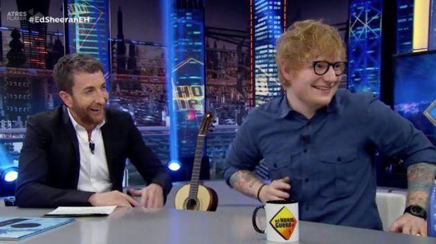 Ed Sheeran, en 'El Hormiguero':
