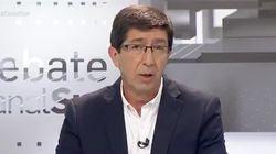 El hachazo de Juan Marín a Moreno Bonilla en pleno debate del que todo el mundo está