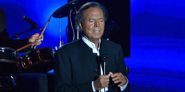 Julio Iglesias en un concierto en Mónaco en