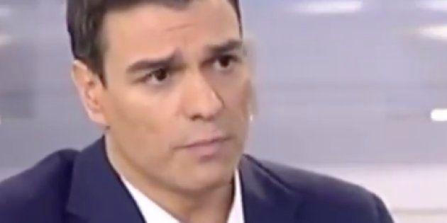 Pedro Sánchez, en 2015: