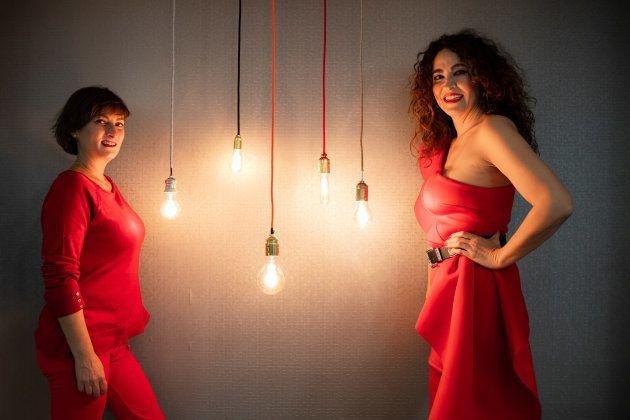 Sara Brun y Cristina