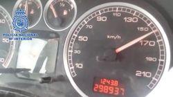 Detenido un menor que conducía a 160 km/h 'jaleado' por su