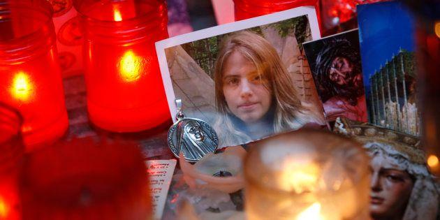 Una foto de la desaparecida Marta del