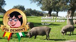 Carles Puigdemont denuncia a Pig Demont, una empresa andaluza cuya mascota es un