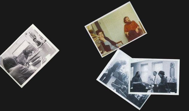 El ecléctico equipo de investigación de Motto. Chrisula Asimos, la asistente que más tiempo trabajó con...