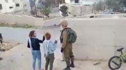 El Ejército israelí arresta a una menor palestina por abofetear a dos
