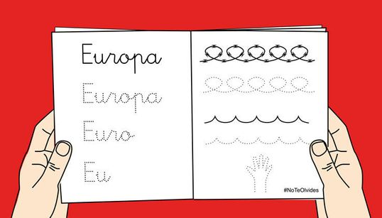 #NoTeOlvides: el grito de 10 ONG y cerca de 50 artistas gráficos para que los refugiados no sean