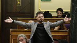 Pastor expulsa a Rufián del Congreso tras una bronca sin precedentes con