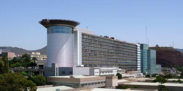 Imagen del Hospital Universitario de Canarias, donde la mujer ha sido