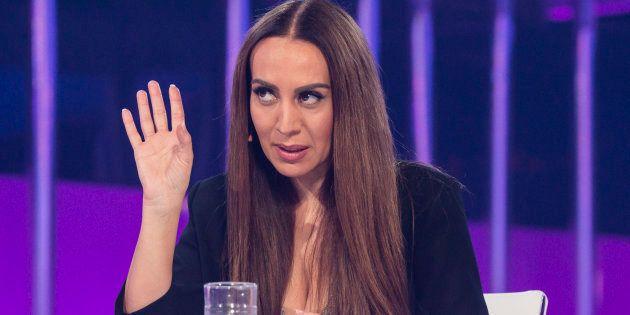 La cantante Mónica Naranjo, en 'Operación Triunfo