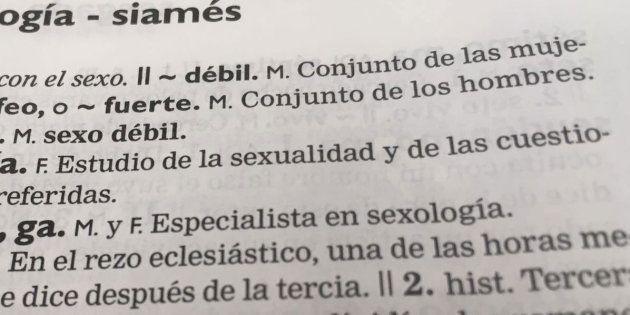 La RAE cambia el significado de 'sexo