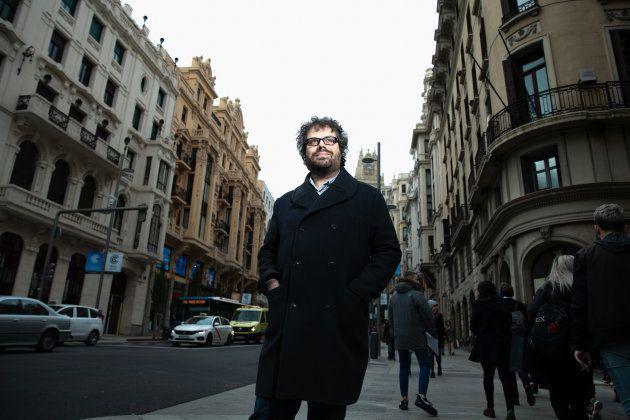 Sergio del Molino, en la Gran Vía de