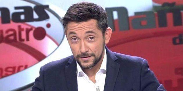 Javier Ruiz será el presentador de Noticias Cuatro en la edición de la