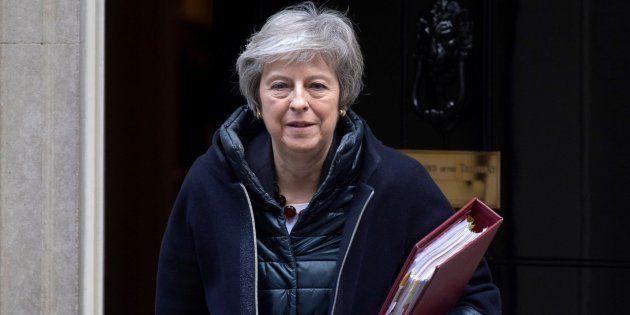 La primera ministra británica, Theresa May, este