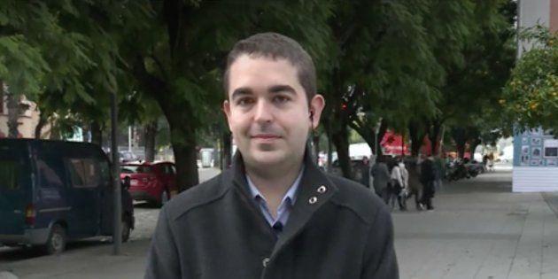 Alejandro Rivero en 'Espejo