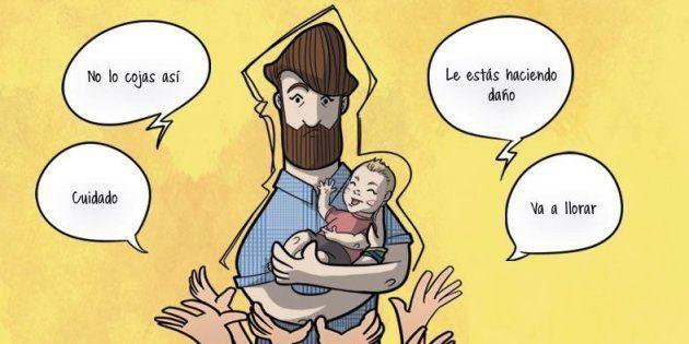 Seis viñetas con las que cualquier padre primerizo se sentirá