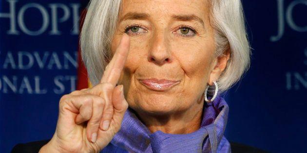 La directora del FMI, Christine Lagarde, en una imagen de archivo tomada en Washington en