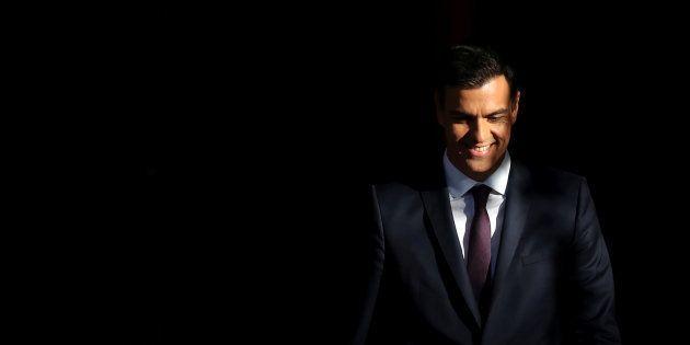 Pedro Sánchez, retratado en La Moncloa en pasado julio, mientras esperaba al francés Emmanuel