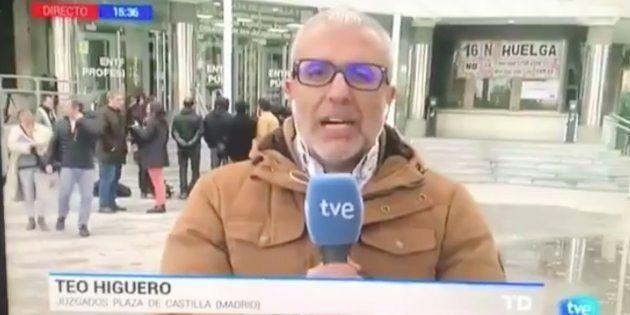 El emocionado mensaje del reportero que ha vivido en directo en el Telediario de TVE la peor pesadilla...