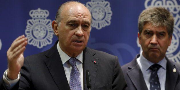 Jorge Fernández Díaz e Ignacio Cosido, cuando ocupaban los cargos de ministro del Interior y director...