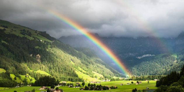 El maravilloso vídeo que muestra que el arcoíris completo existe ...
