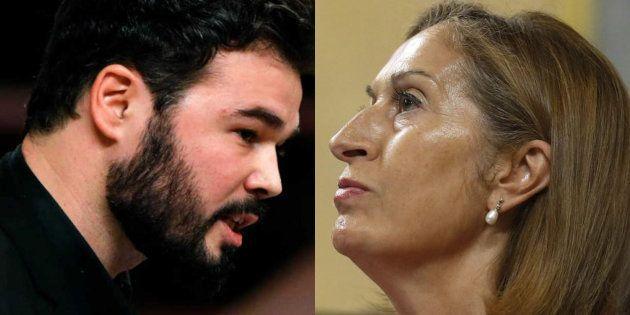 Gabriel Rufián y Ana
