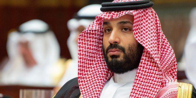Imagen de archivo del príncipe heredero saudí, Mohamed bin