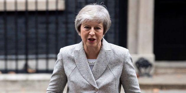 May dice que la declaración del Brexit es