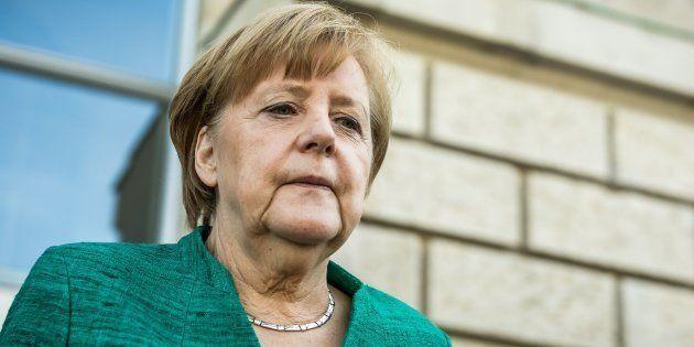 La canciller alemana Angela