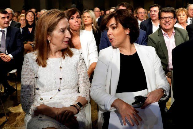 Ana Pastor y Soraya Sánez de