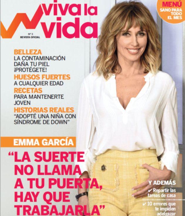 Emma García, en la revista 'Viva la