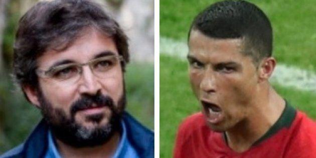 El aplaudido tuit de Évole sobre Ronaldo tras el Portugal-España: viral a los 10