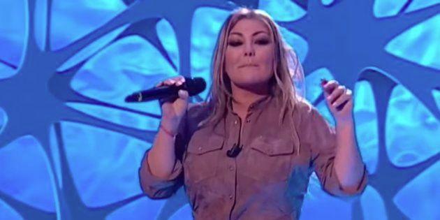 El percance de Amaia Montero en plena actuación en Canal
