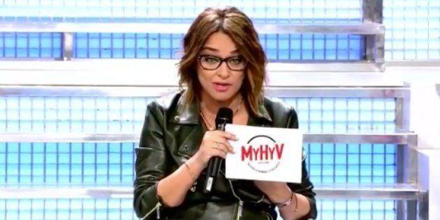 Toñi Moreno, presentadora de 'Mujeres y Hombres y Viceversa' en