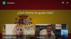 ENCUESTA: ¿Qué himno te gusta más? ¿El de Marta Sánchez o el de