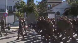 El indignante vídeo de unos legionarios entonando cánticos