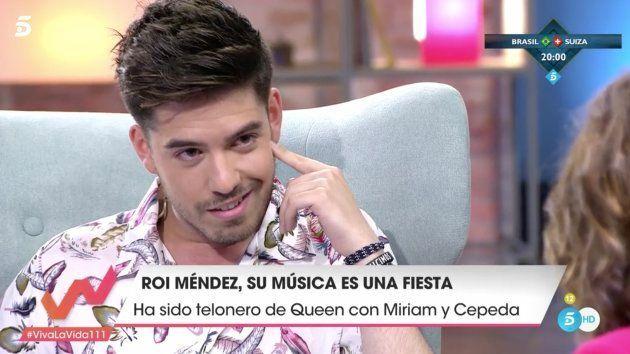 Roi Méndez vacila a Toñi Moreno en 'Viva la Vida' y la deja con esta