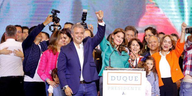 El presidente electo de Colombia, Iván