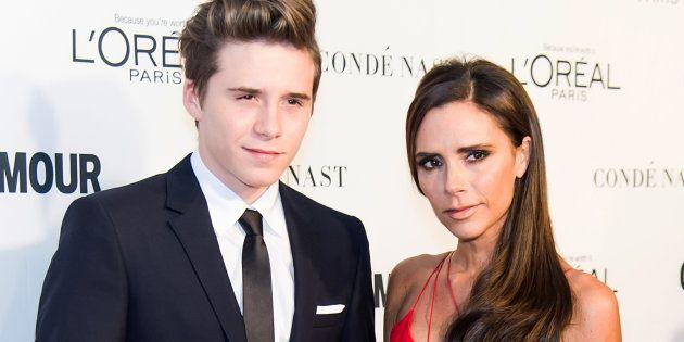 Victoria Beckham se cachondea del corte de pelo de su hijo y le busca un parecido