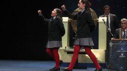 Yanisse y Nazaret, las niñas metralleta: cinco premios en un cuarto de hora de