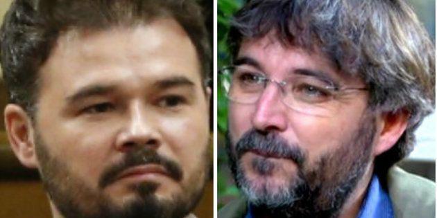 Gabriel Rufián y Jordi