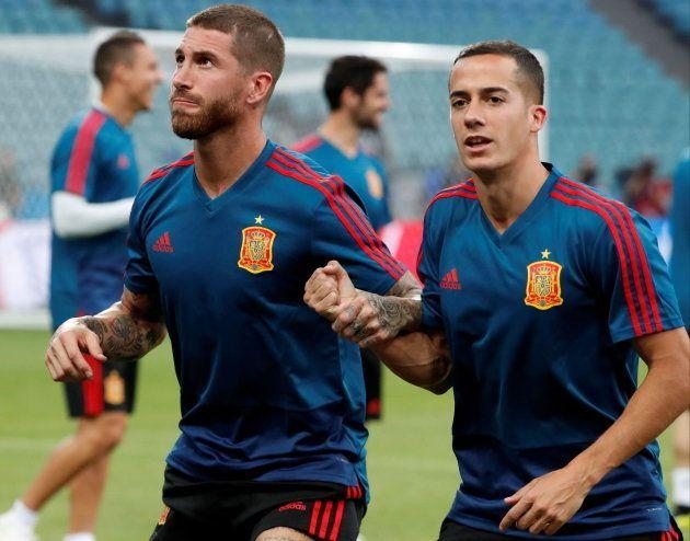 Cachondeo con el tremendo parecido razonable que Ramos le ha sacado a Lucas
