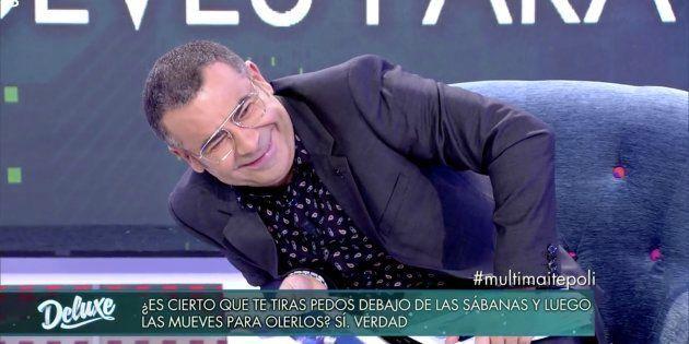 Jorge Javier Vázquez pasa vergüenza con las preguntas del polígrafo a Maite
