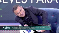 Jorge Javier Vázquez casi se muere de la vergüenza con una pregunta a Maite