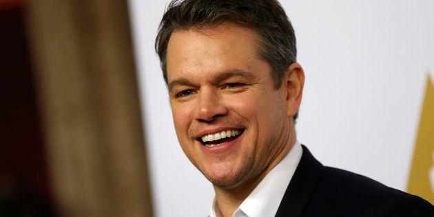Piden que Matt Damon abandone 'Ocean's
