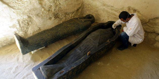 Nueva tumba descubierta en Luxor,