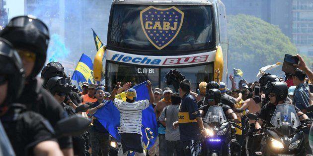 El autobús de Boca