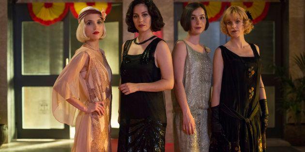 Ana Fernández, Blanca Suárez, Nadia de Santiago y Maggie Civantos, en la segunda temporada de 'Las chicas...