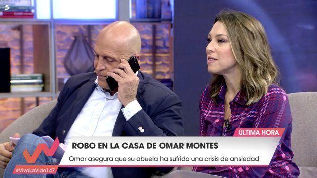 Kiko Matamoros responde a una llamada en 'Viva la