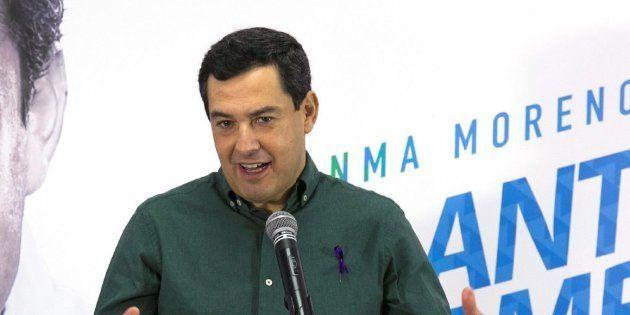 Juanma Moreno, candidato del PP en